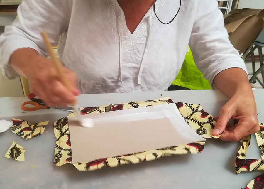 Encres et feuillets | atelier reliure
