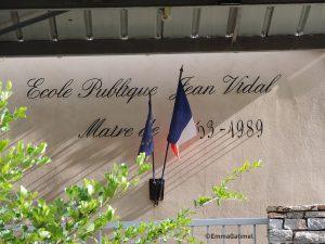 L'école Jean Vidal